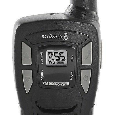 Cobra GMRS Walkie Talkie 2-Way Radios, CX112