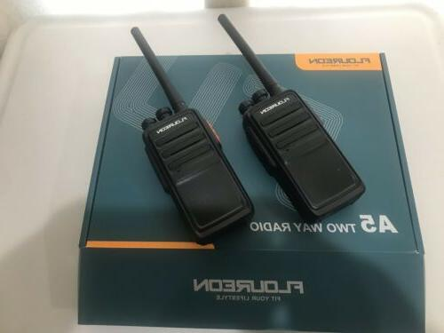 1pair a5 rechargeable 16 channel walkie talkie