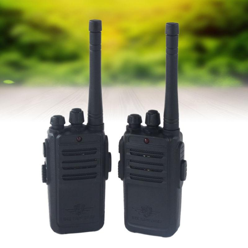 2 Pack Talkies For Two Radio Batteries