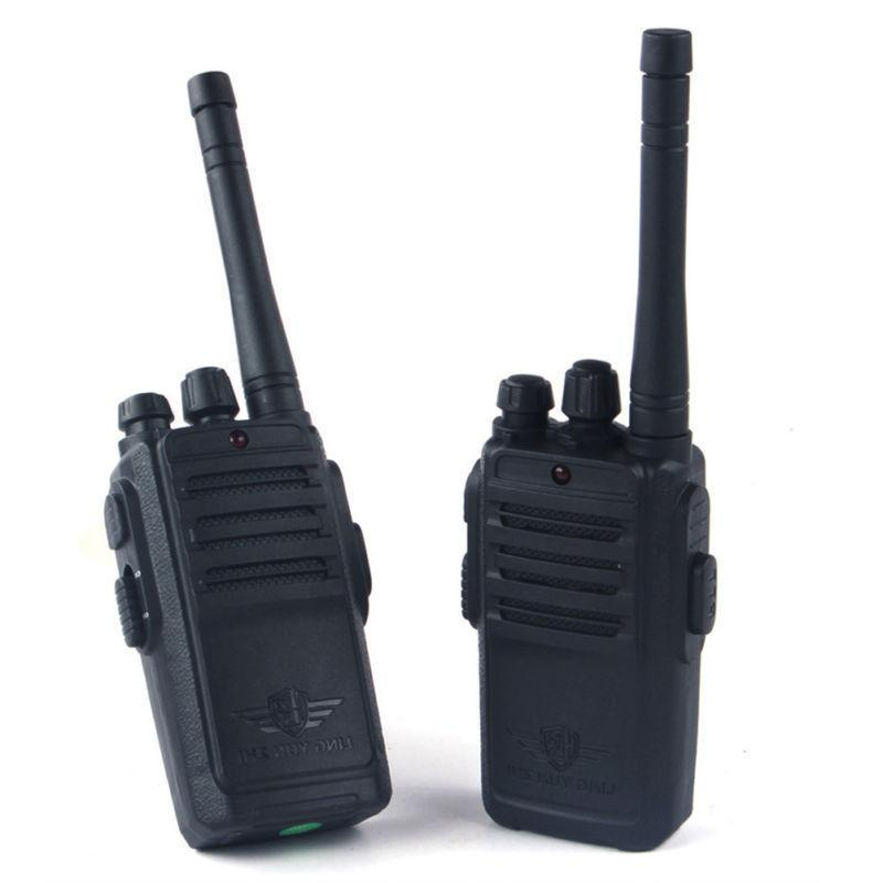 2 pack black walkie talkies for kids