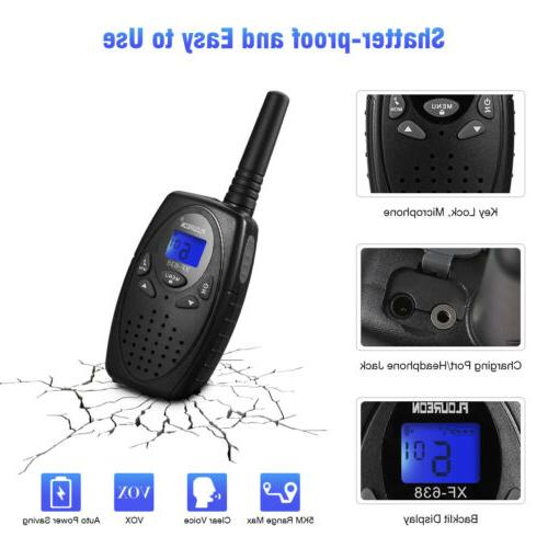 2 Pack Walkie UHF462-467MHz 3KM