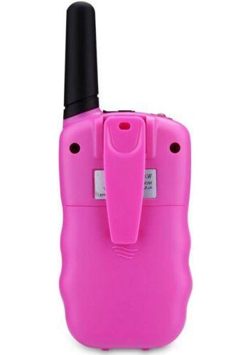 2 Pink Walkie - Perfect Gift Kids Or