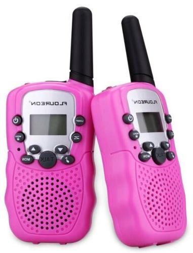 2 pink walkie talkies perfect gift