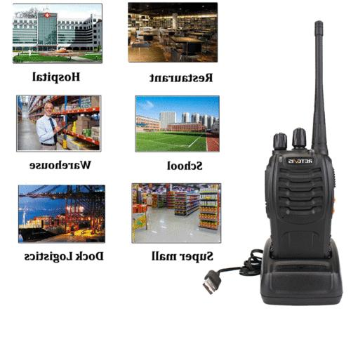 Retevis Walkie two Way UHF handheld 16CH campus