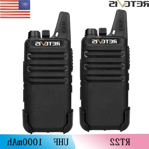 2 rt22 16ch walkie talkie uhf ctcss