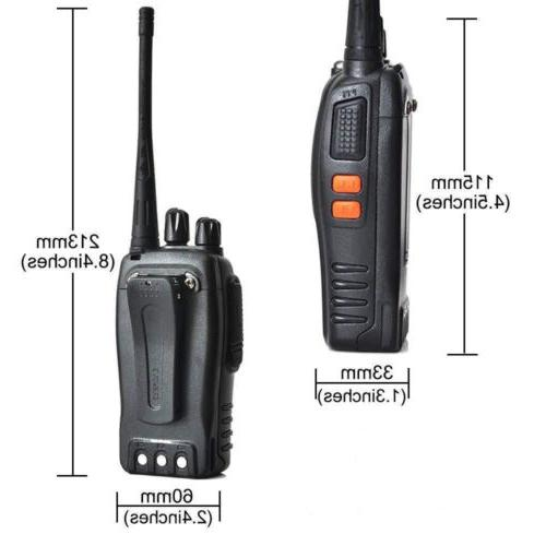 4 x Two Walkie Talkie Flashlight