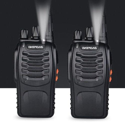 4 BF-888S Two 400-470MHz Walkie Flashlight