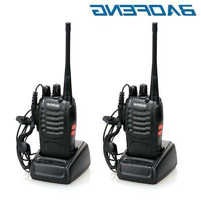 2 x bf 888s two way radio