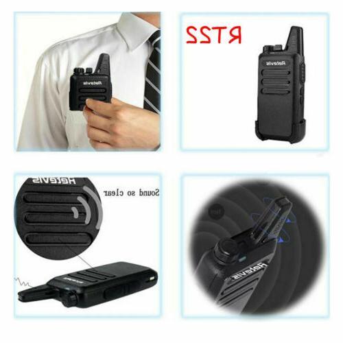 2*Retevis Talkie UHF CTCSS&DCS dustproof 2W/1W Two-Way