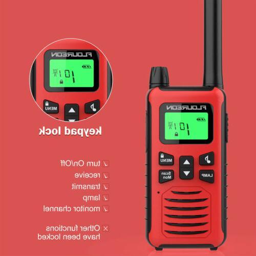 FLOUREON 22 CH Walkie Talkies Handheld