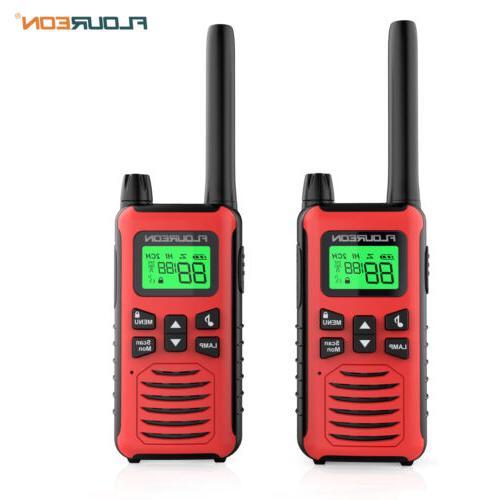 FLOUREON Walkie 462-467MHZ Handheld 5Km