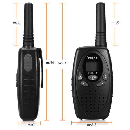 FLOUREON Walkie UHF462-467MHz Radio Interphone