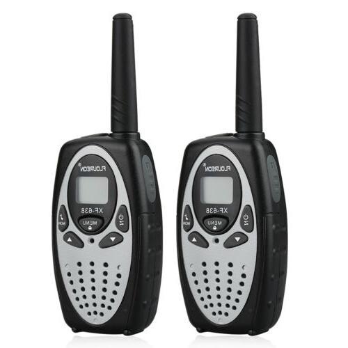 FLOUREON Walkie Talkies Radio Communication Interphone