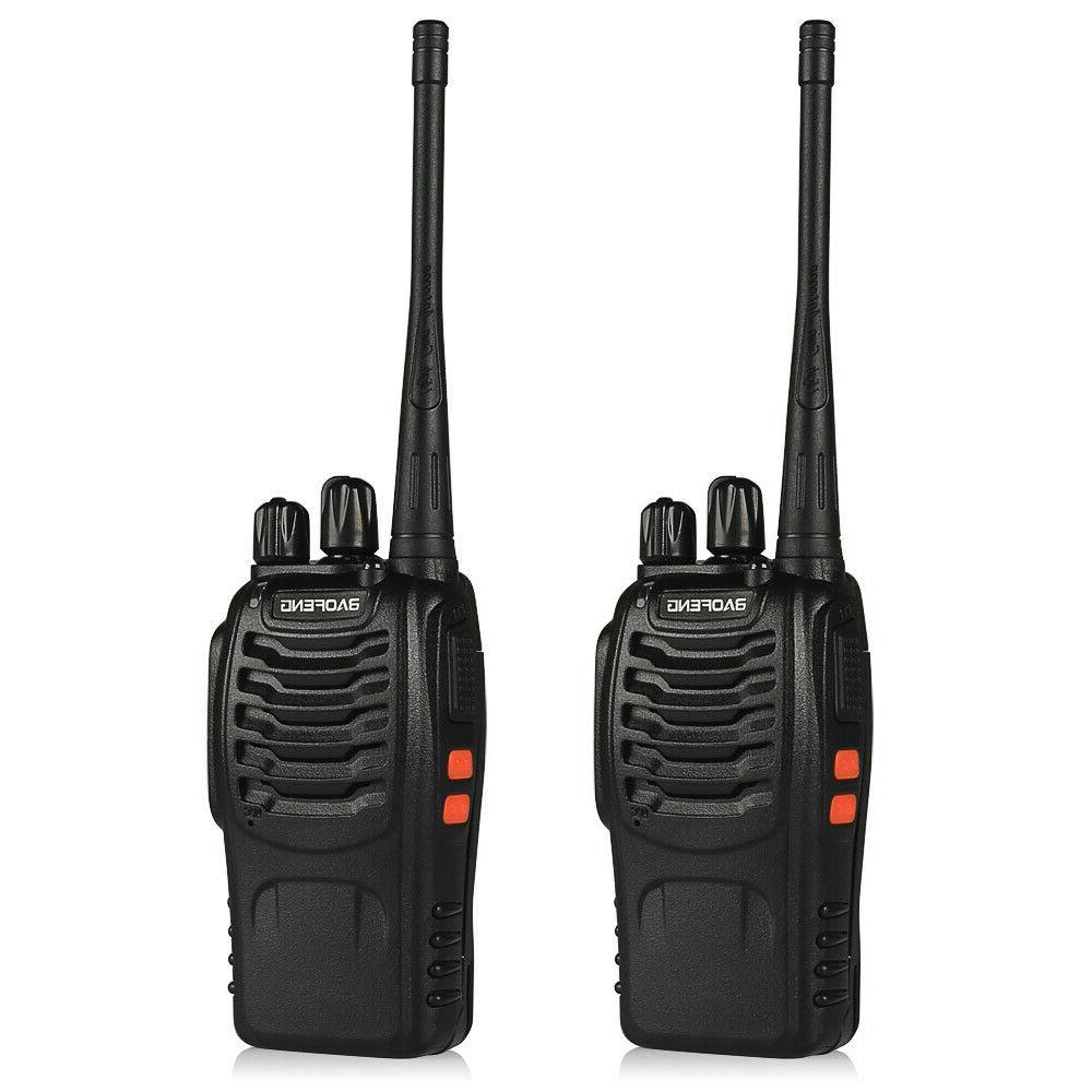 2Pack CTCSS 5W Two-way Ham HT Talkie