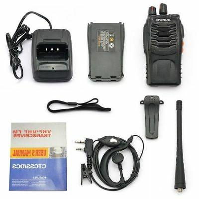 2Pack Baofeng Handheld Radio Walkie