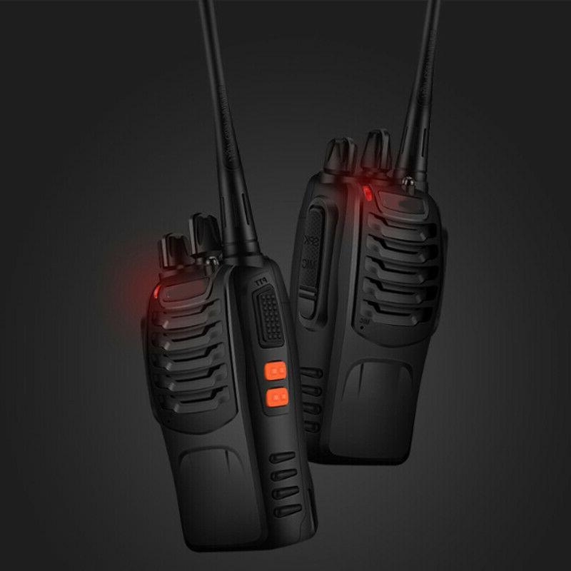 4 Two Way 400-470MHz Walkie Flashlight
