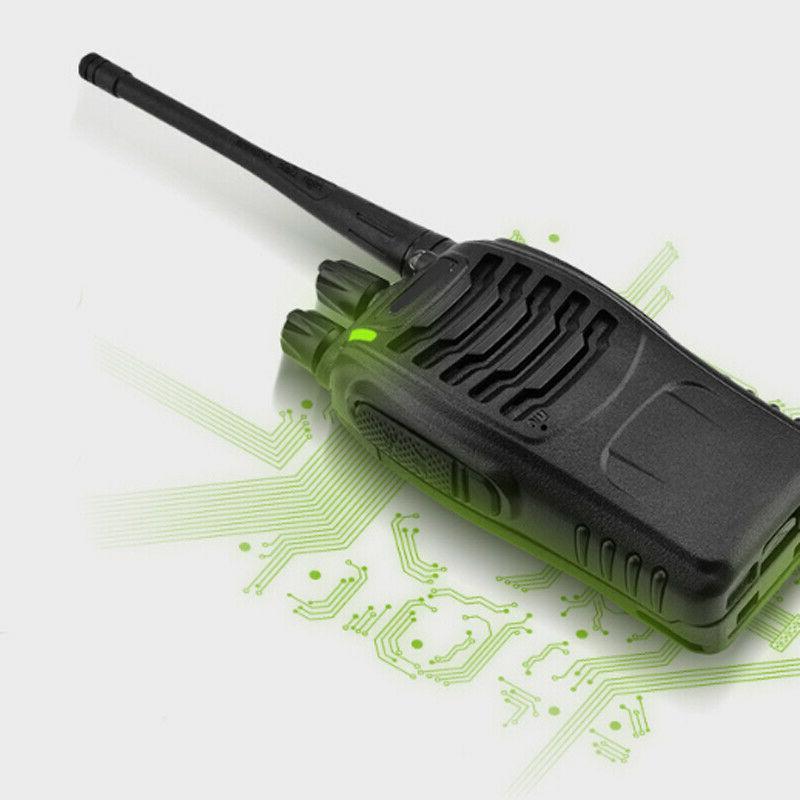 4 Baofeng BF-888S Two Radio 400-470MHz Walkie Flashlight