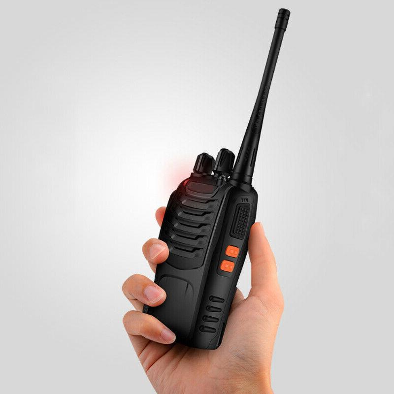 4 Two Way Radio 400-470MHz Walkie Flashlight