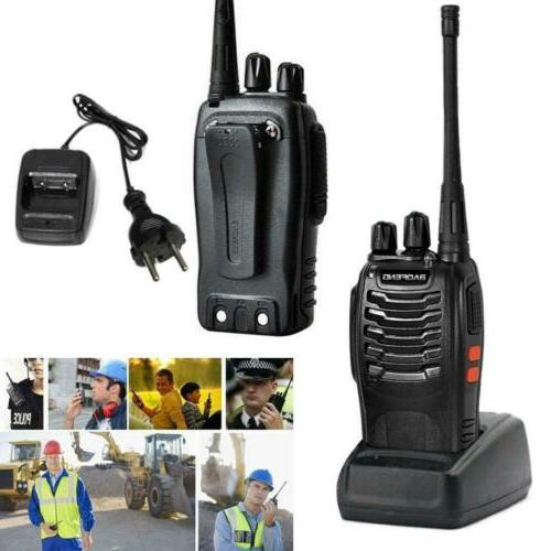 2x Baofeng Walkie Talkies Two Way Radio Rechargeable Interco