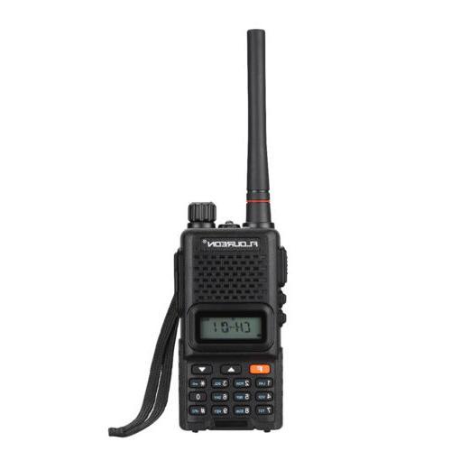 FLOUREON LCD 7KM 400-470MHz Twin FM Talkies