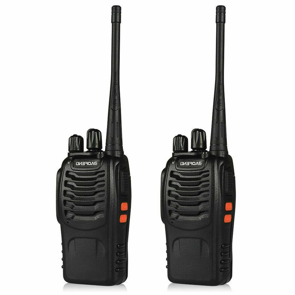 2pcs BF-888S UHF Handheld HT