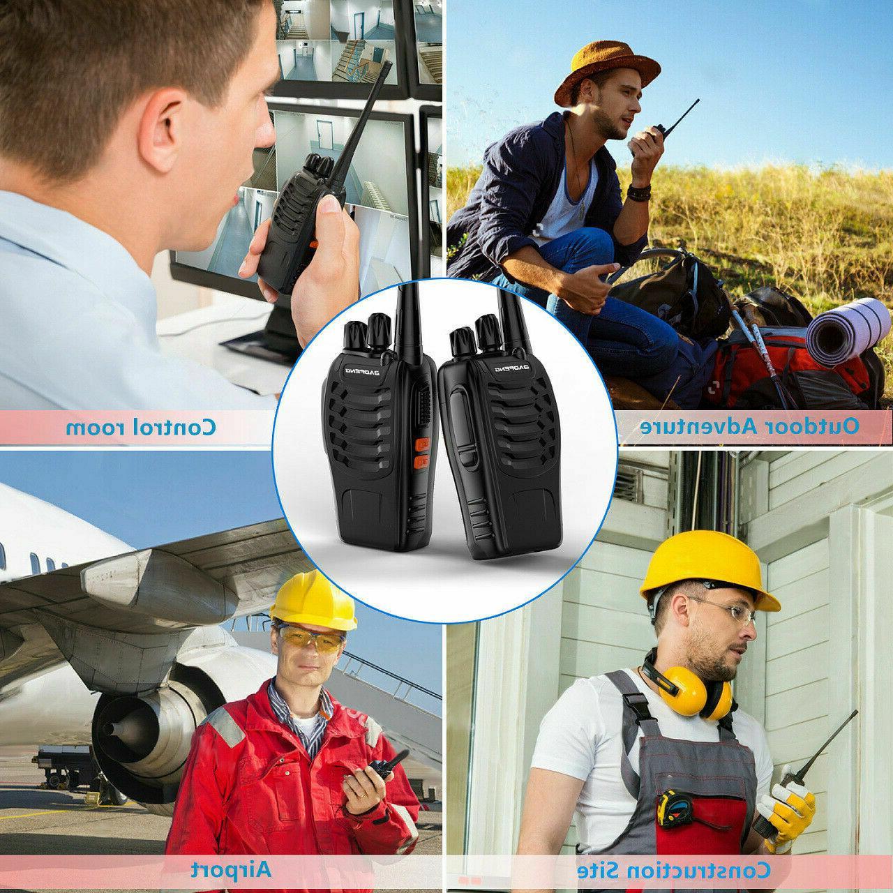 2pcs 1pk walkie talkie bf 888s uhf