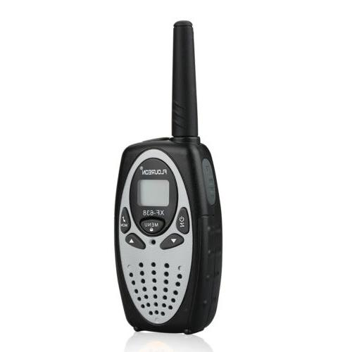 2PCS FLOUREON Walkie Talkies UHF 462-467MHz Radio