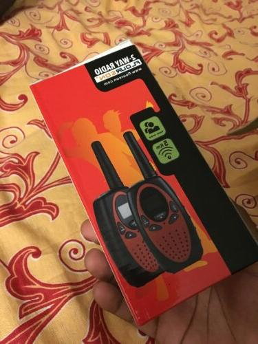 2pcs FLOUREON Talkies UHF462-467MHz Interphone