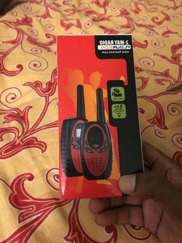 2pcs 22ch walkie talkies uhf462 467mhz 2