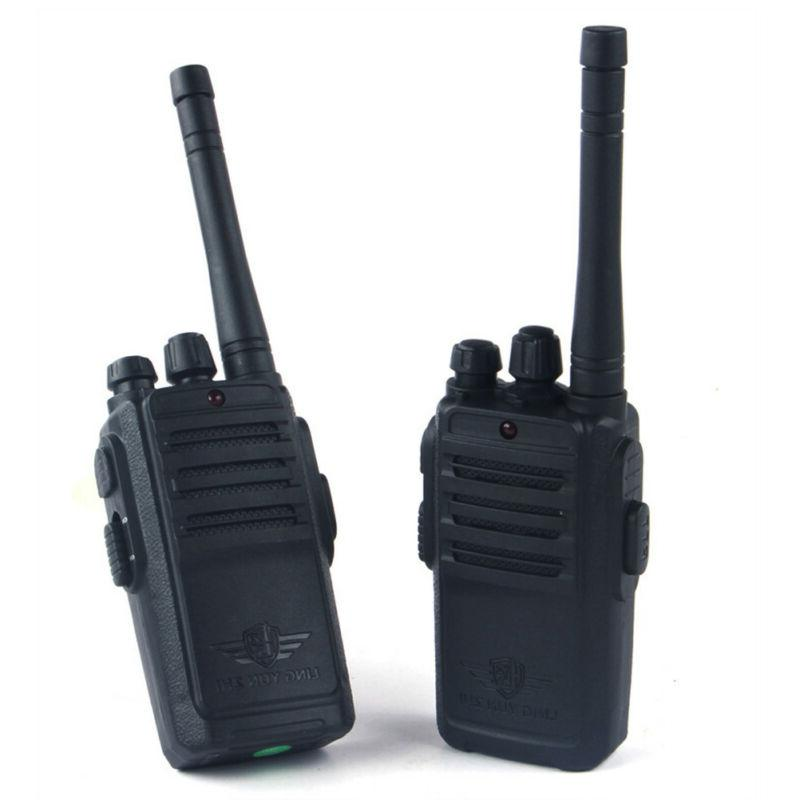 2 pack walkie talkies for kids rechargeable
