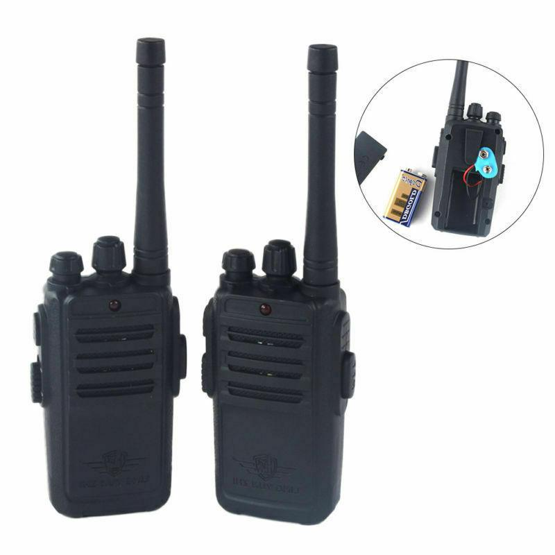 2pcs Kids Walkie Talkies Transceivers Wireless Handheld Radi