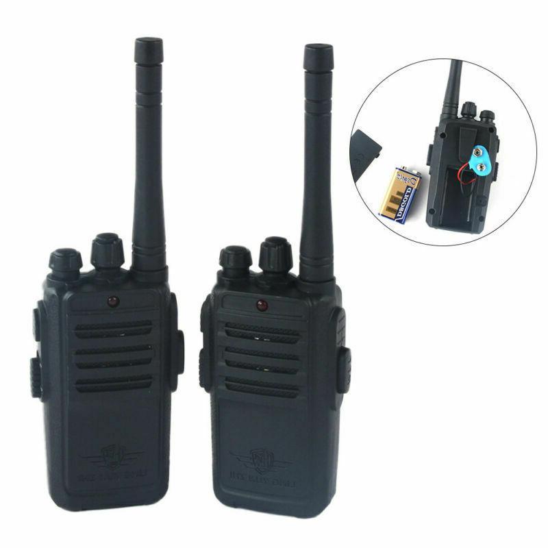 2Pcs Mini Walkie Talkie Kids Electronic Toys Portable Two-Wa
