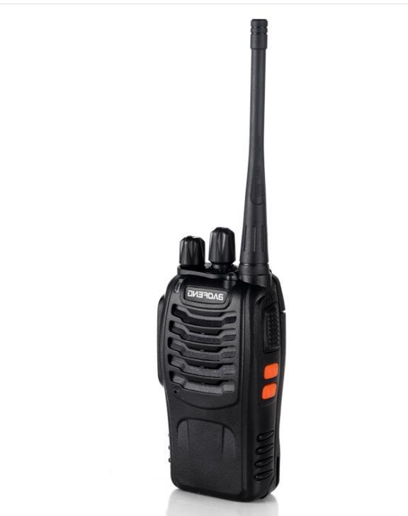 2Sets handheld transceiver <font><b>Radio</b></font> BF 888S Ham communicator HF station Walkie BF888S