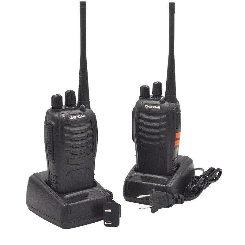 2Sets transceiver UHF <font><b>Radio</b></font> communicator HF station Walkie BF888S