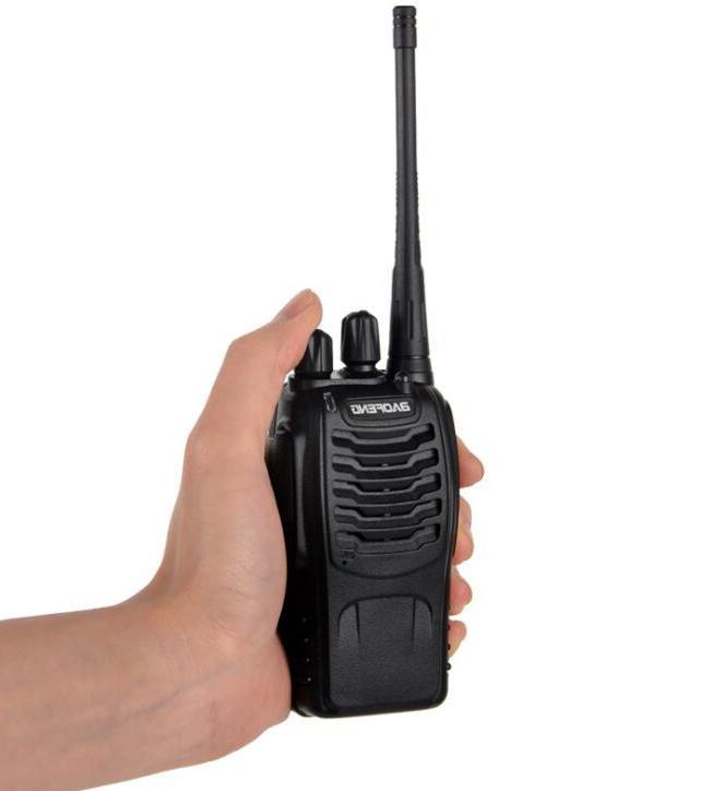 2Sets BF888S handheld fm transceiver UHF communicator HF <font><b>cb</b></font> station Talkie BF888S