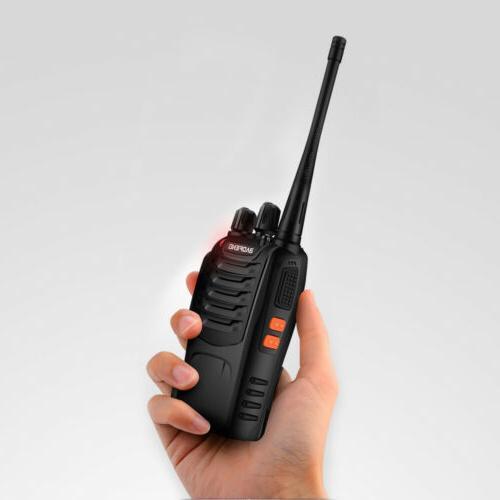 2X UHF Walkie Talkie 2 Way Radio Long