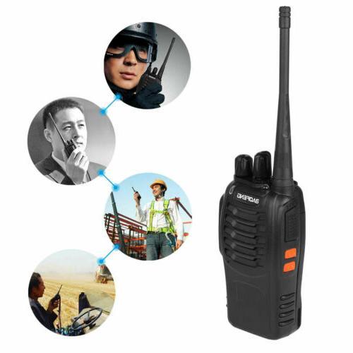 2X Baofeng Walkie 2 Two UHF Radio 400-470MHZ Long Range 16CH