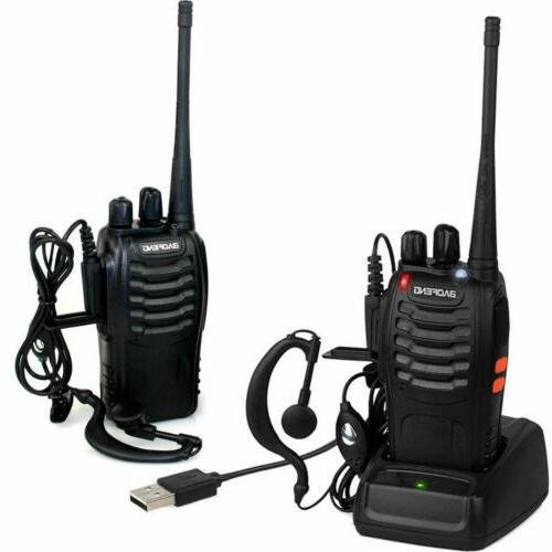 2X Baofeng 2 Two BF-888S UHF Radio 400-470MHZ Range