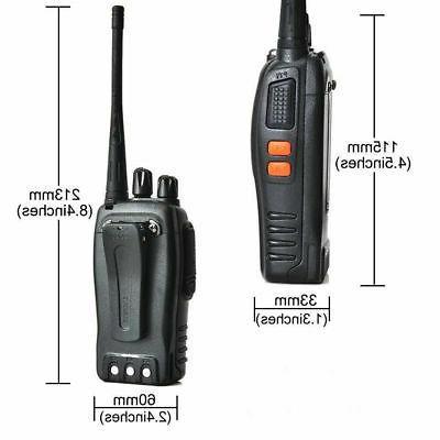 2X Baofeng BF-888S Walkie 2 Way Radio 16CH Long Range
