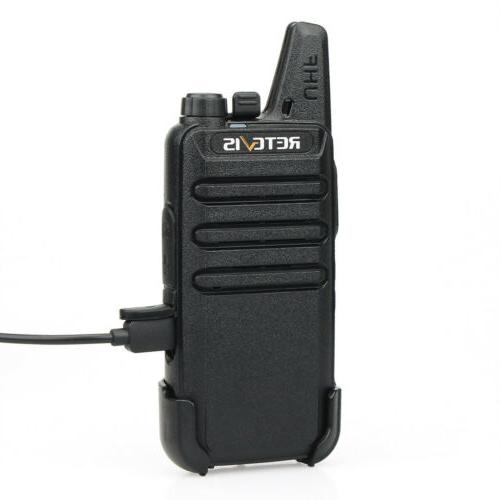 6pcs Retevis RT22 Walkie Talkies DCS 16CH VOX Charger