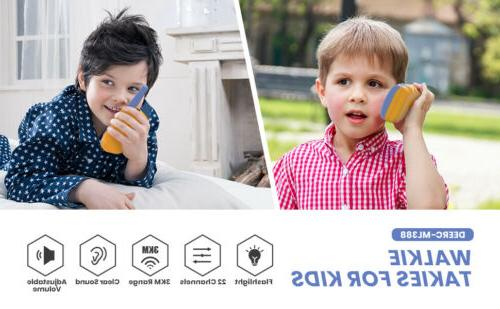 2X Channels Play with LCD for Kids