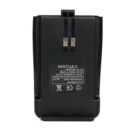 2xOriginal Li-ion Battery Pack for Walkie Talkies US