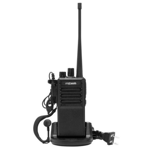 3x 400-470MHz Walkie Two Way Radio Handhled Range GMRS