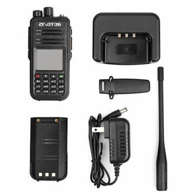 3xRetevis 3000CH UHF/VHF Walkie Alarm