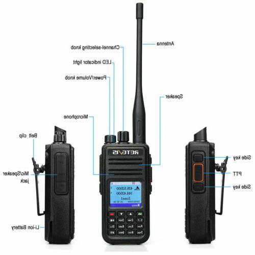 3xRetevis GPS 3000CH UHF/VHF