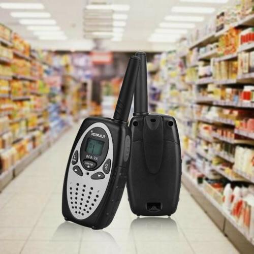 4X FLOUREON 22CH Talkies UHF462-467MHz 3KM Interphone
