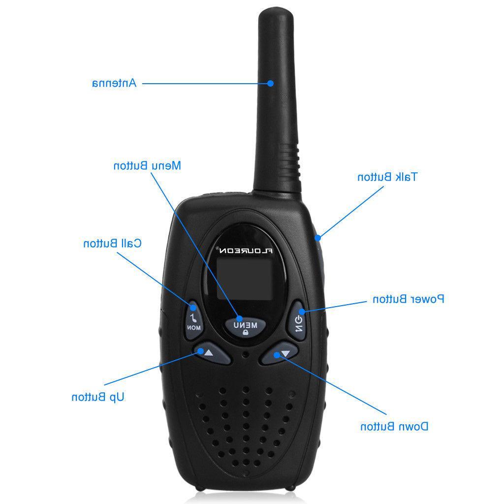 4 Walkie Talkie 462-467MHz Radio 5KM Range