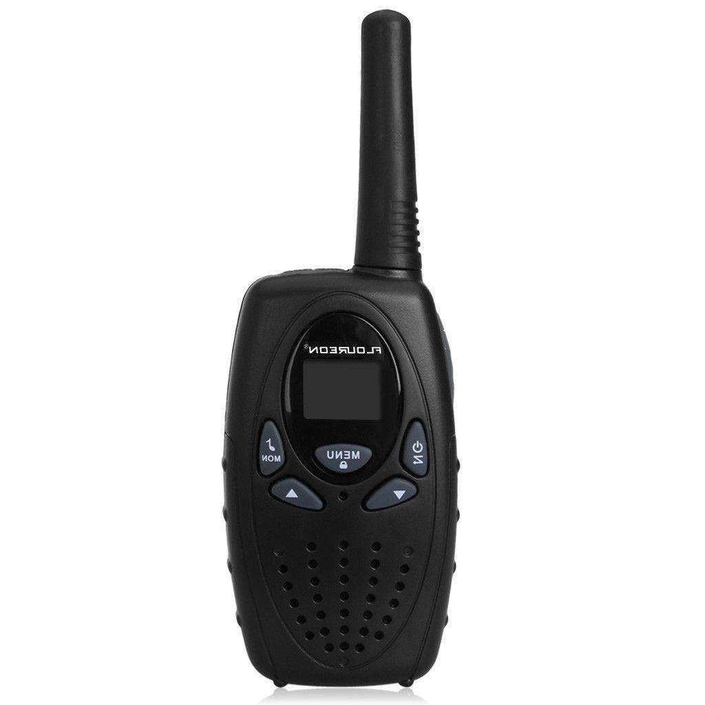 4 Pack FLOUREON Walkie Talkie 462-467MHz Radio 5KM Range