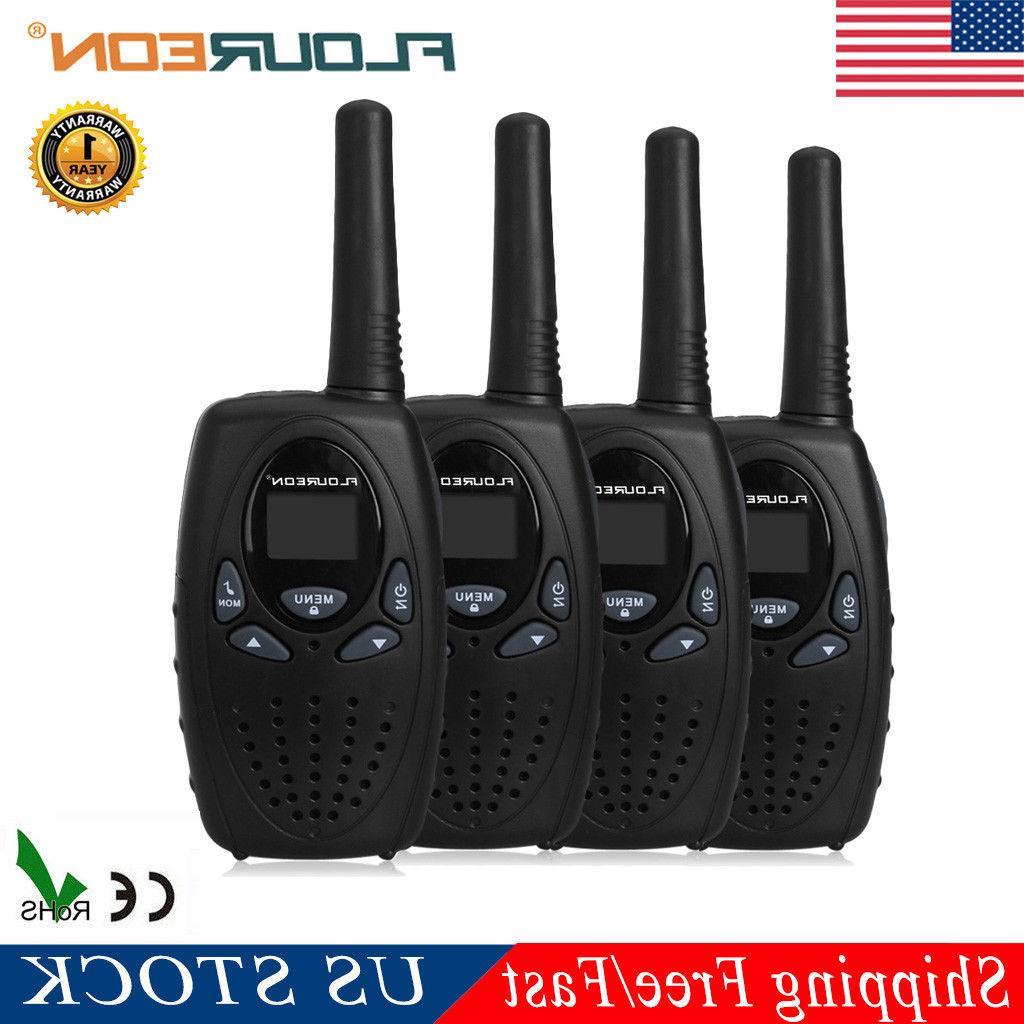 4 pack 22ch walkie talkie two way