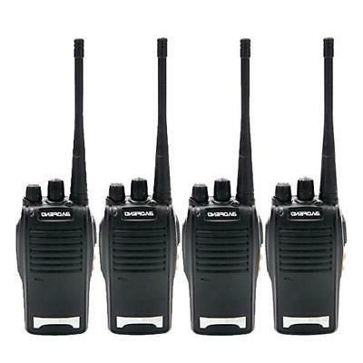 4 pack bf 777s walkie talkie 400